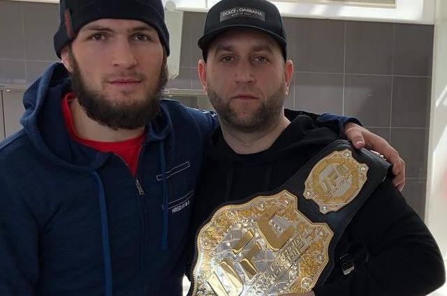 Тур пояса чемпионата UFC Хабиба Нурмагомедова
