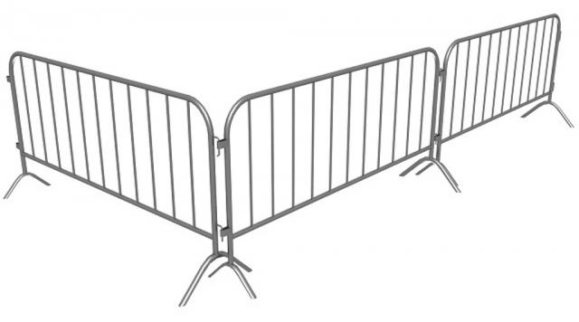Забор барьерного типа. Фан-барьер